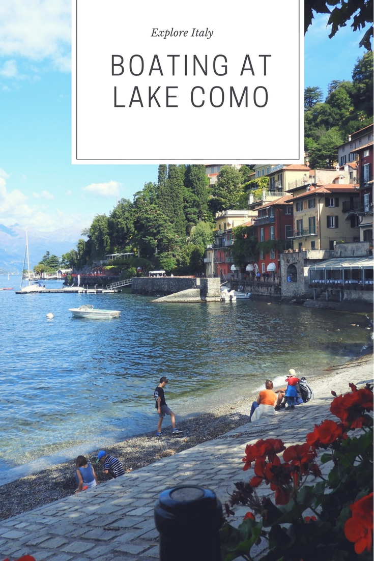 Boating at Lake Como: Varenna and Bellagio