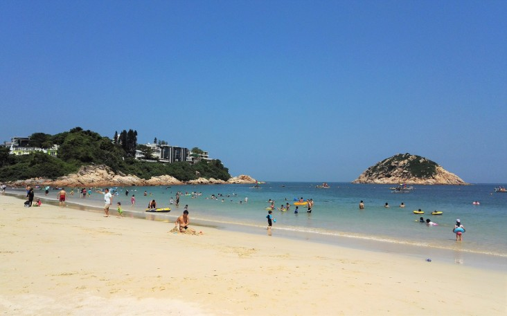 Shek O beach, Hong Kong