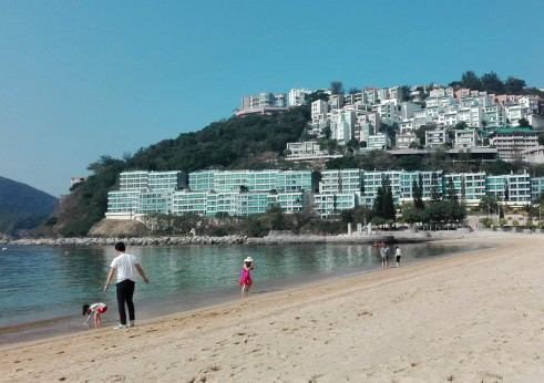 Repulse Bay beach, Hong Kong