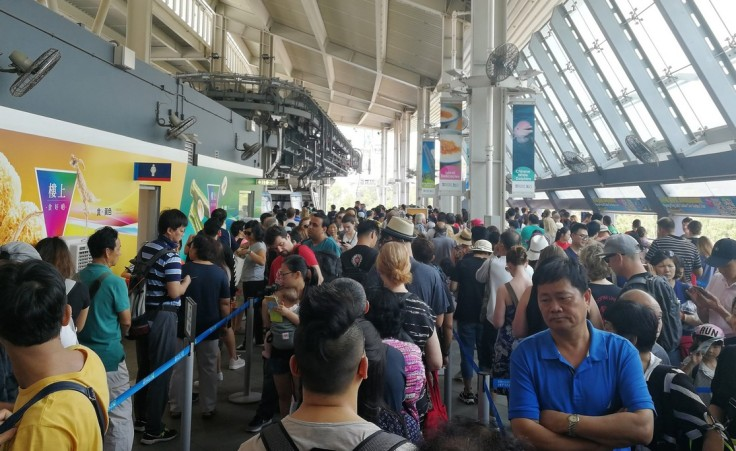Cable car terminal Tung Chung