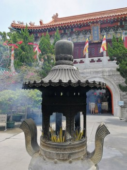 Po Lin Monastery in Ngong Ping