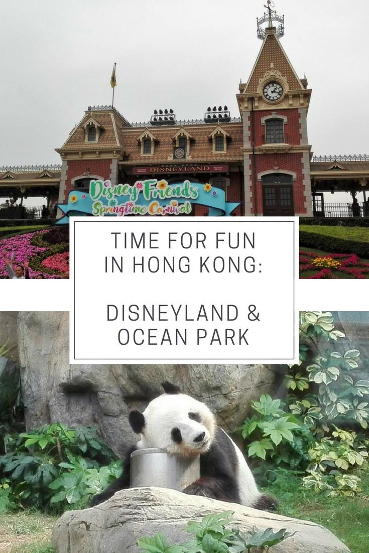 Hong Kong theme parks: Disneyland & Ocean Park