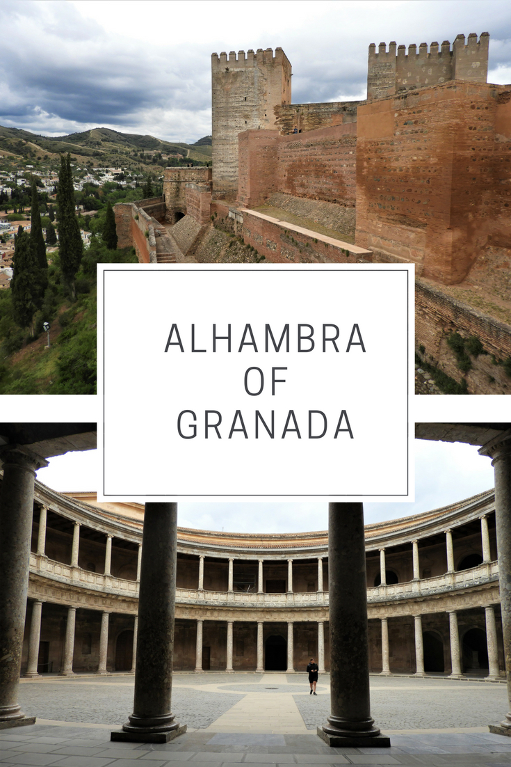 Alhambra castle in Granada, Spain