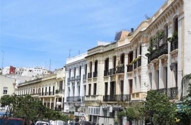 Rue d'Italie in Tangier
