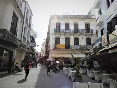 Old town of Tangier is called Medina