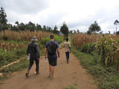 Hiking at Mount Meru