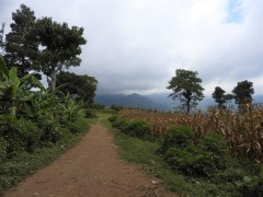 Hiking at Mount Meru