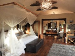 The rooms at Escarpment Luxury Lodge