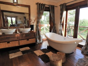 The rooms at Escarpment Luxury Lodge