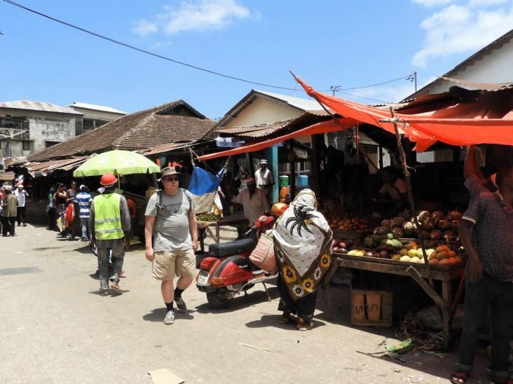 Stone Town -capital of Zanzibar