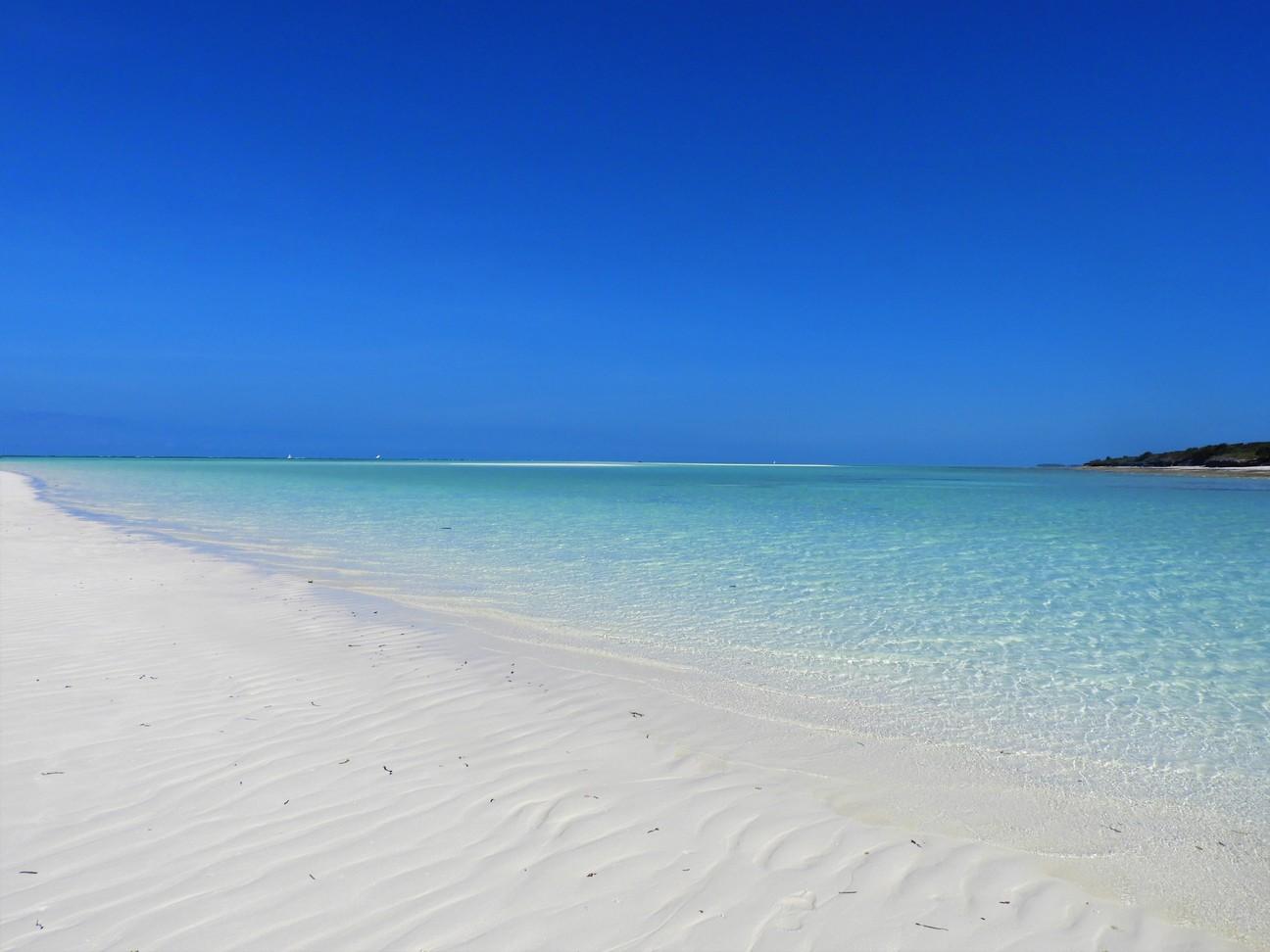 Sand dunes in Nungwi, Zanzibar