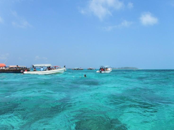 Snorkeling near Mnemba in Zanzibar
