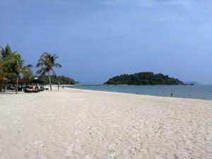 Berjaya Langkawi resort - private beach