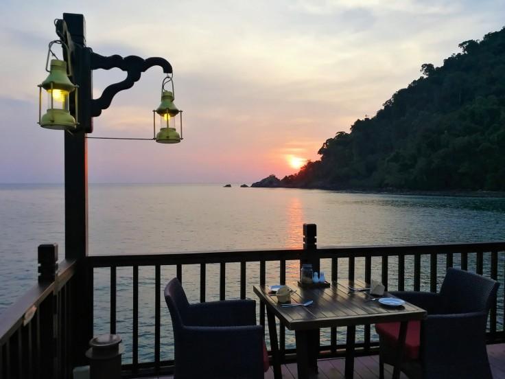Berjaya Langkawi resort - Pahn Thai restaurant