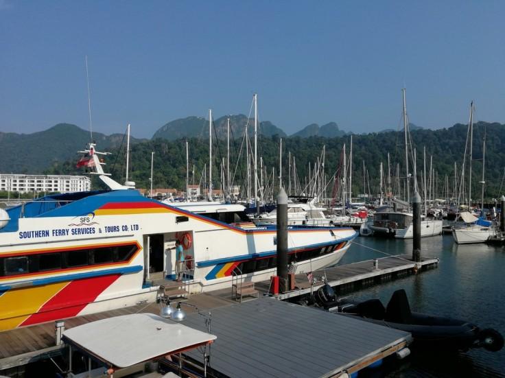 Telaga Harbour Langkawi - ferry to Koh Lipe