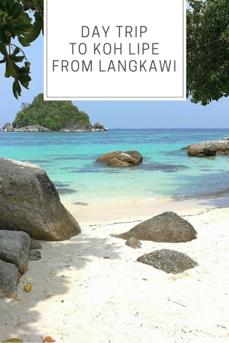 Day trip to Koh Lipe from Langkawi