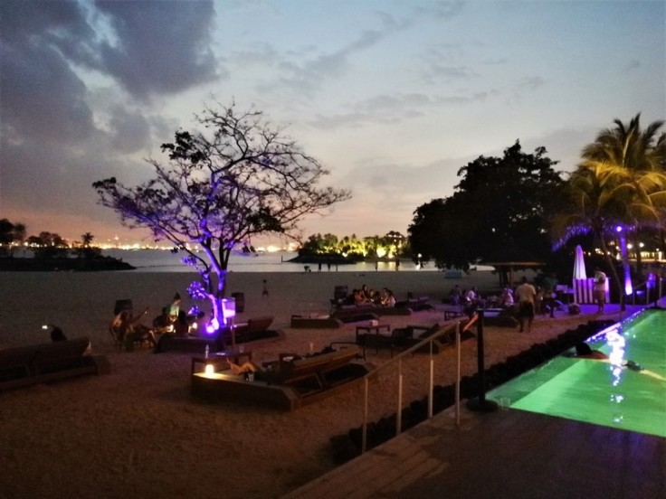 FOC Sentosa restaurant on Beach in Singapore