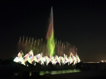 Wings of Time light show, Singapore