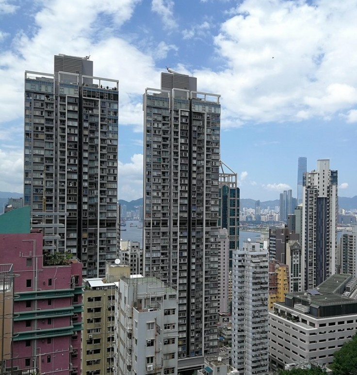 Hong Kong skyline is also full of diversity and mixes old and new
