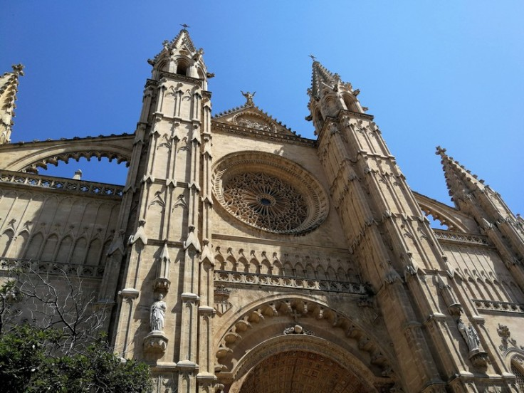 Facade of the Cathedral de Palma (La Seu)