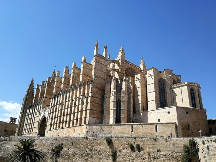 Cathedral de Palma (La Seu) from the outside