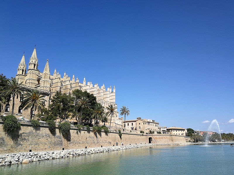 Cathedral is the most recognizable landmark of Palma